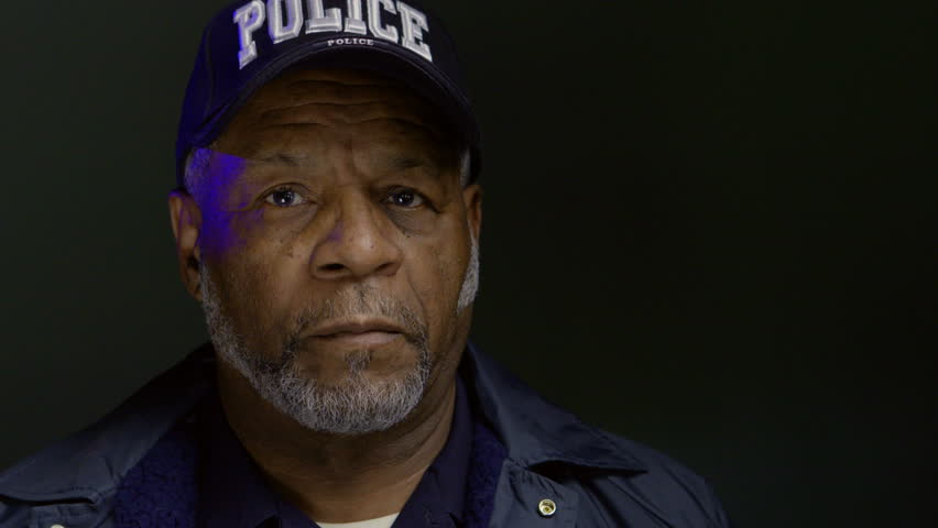 Portrait of an African American police officer   Shutterstock HD Video #30208240