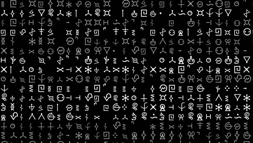 Alien Language Footage Stock Clips