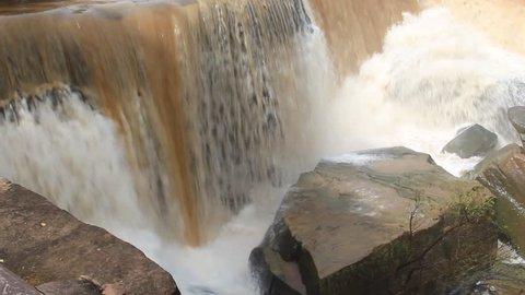Kaeng Sopha waterfall is the beautiful waterfall in Phitsanulok Province, Thailand