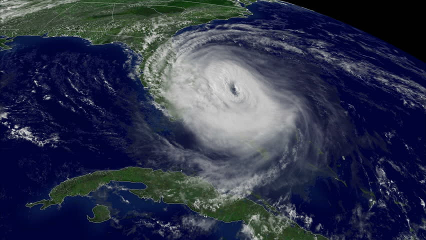 Hurricane Irma, storm, tornado, satellite view. Elements of this image furnished by NASA | Shutterstock HD Video #30589576