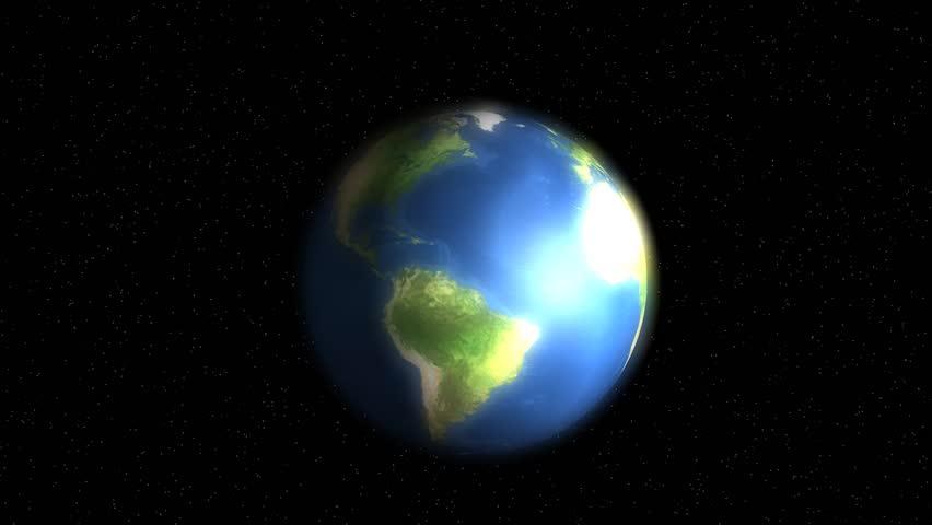 Earth magnetic field.