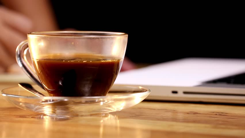 Coffee placed on the desk | Shutterstock HD Video #30600976