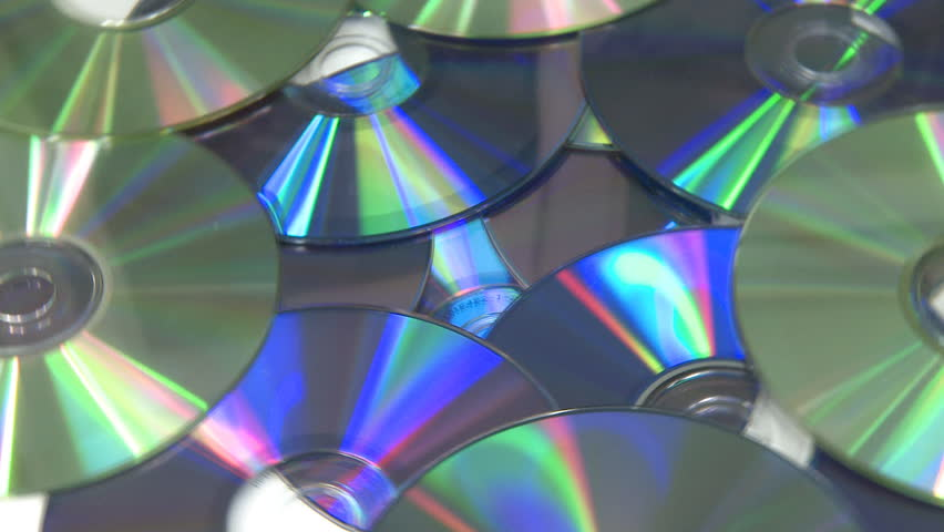 Computer CD DVD rotating