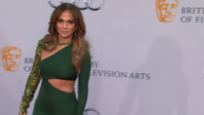 Los Angeles, CA - JULY 09, 2011: Jennifer Lopez walks the red carpet at the BAFTA Brits to Watch 2011 held at the Belasco Theatre
