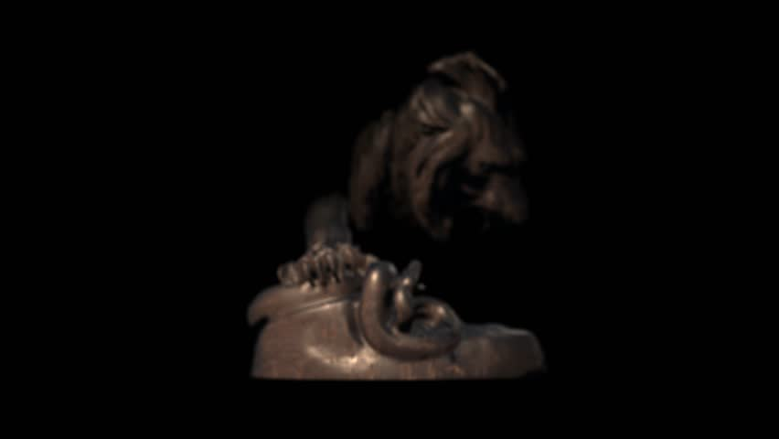 Header of bronze