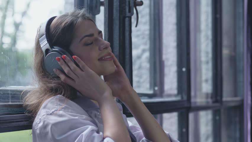 The pleasure of listening to music | Shutterstock HD Video #30929488