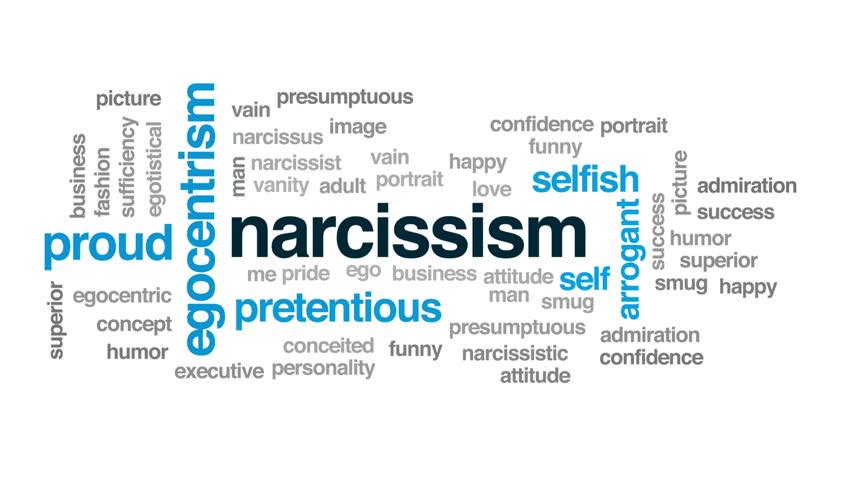 Header of narcissism