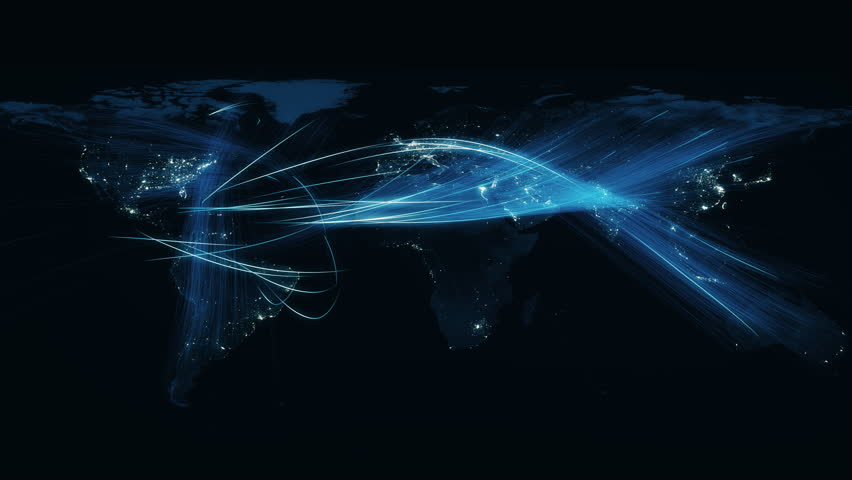 Global business expanding its reach across the globe.