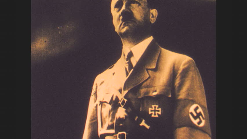 Header of Adolf Hitler