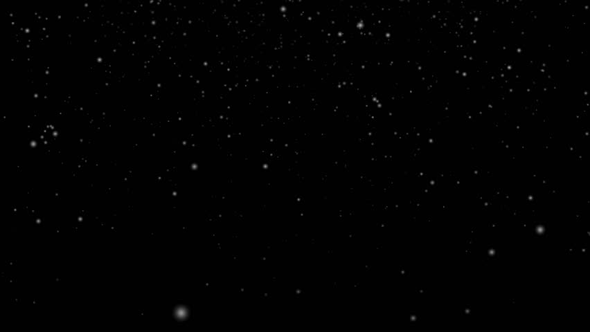 Winter snow fall. Video background.