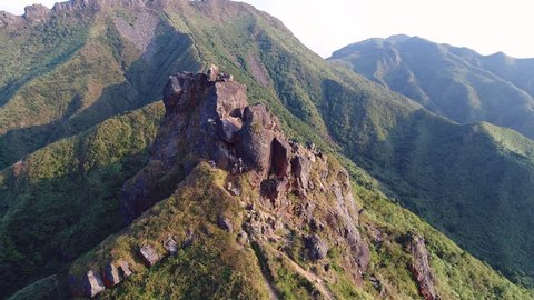 Landmark Teapot mountain and beautiful coastal mining town, Jinguashi (along with Jiufen) is one of Northern Taiwan's best destinations. The abandoned area so call Taiwan's Machu Picchu.