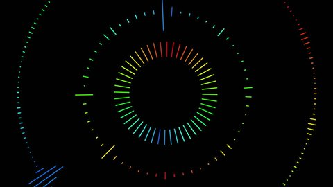 Audio Equalizer BPM synchronized seamless animation for music videos, night clubs, dance stage, party, events, performance, audiovisual show, electronic music concert, youtube podcast.