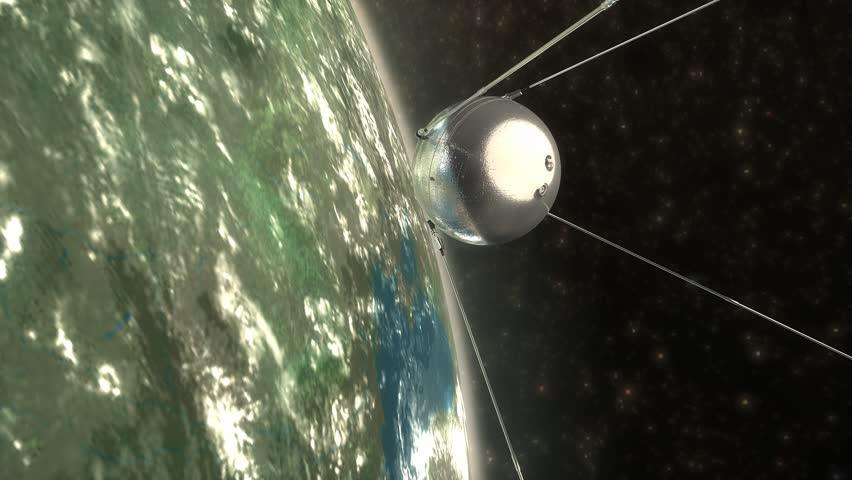 1957 Sputnik 1 first artificial earth satellite.