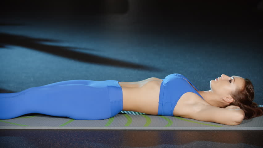 Female Athlete Doing Sit Ups Exercises Stock Footage Video 100 Royalty Free 31807906 Shutterstock