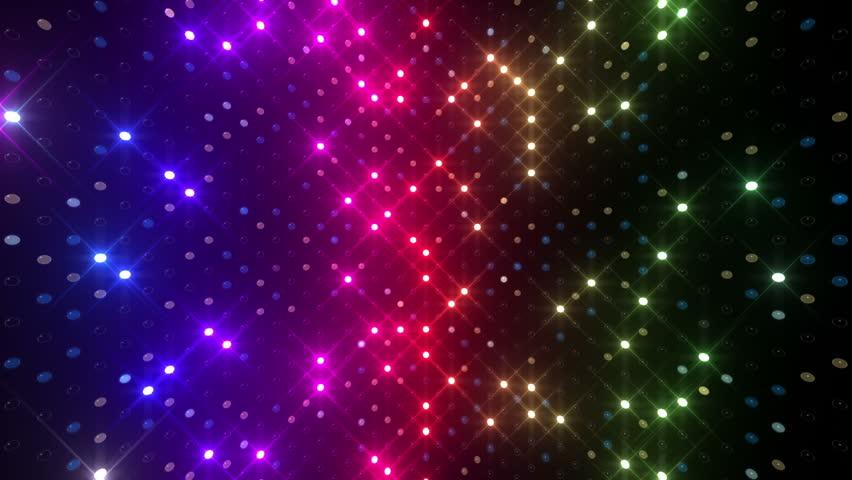 LED Light wall. - HD stock footage clip & Flash LED Lights. Stock Footage Video 704260   Shutterstock azcodes.com