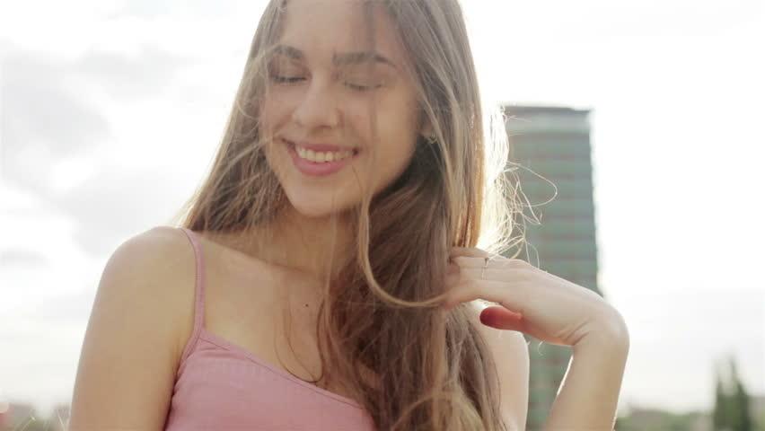 Emotions, Lifestyle, People, Teens, 4K Stock Footage Video -4040