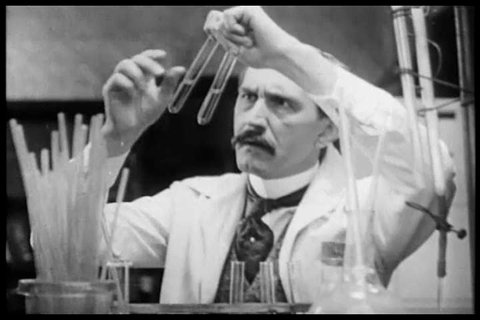 CIRCA 1900s - Scientists Fritz Richard Schaudinn and Erich Hoffmann discover the Syphilis germ, August von Wassermann develops a Syphilis blood test and Paul Ehrlich discovers Arsphenamine,