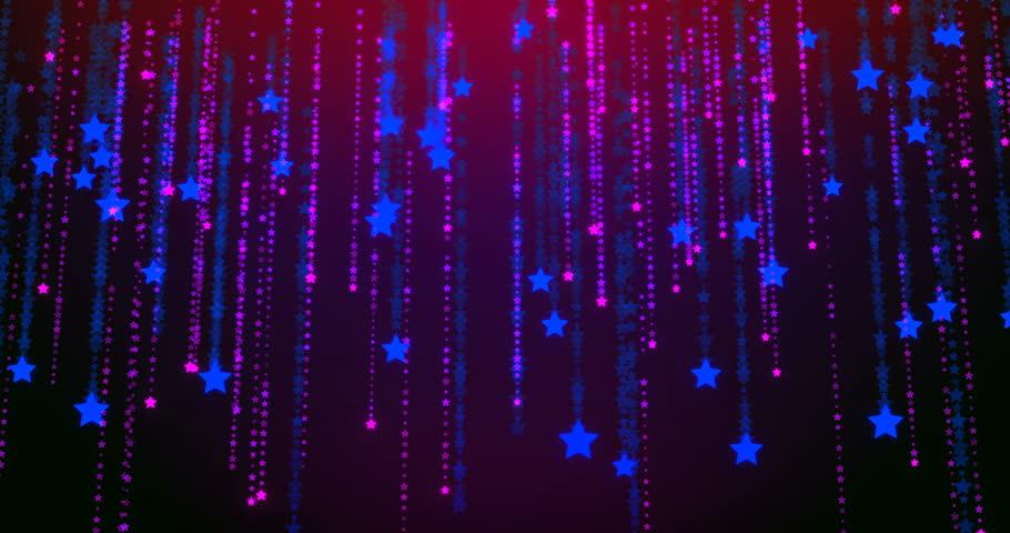 Abstract background stars rain blue, purple | Shutterstock HD Video #31928446