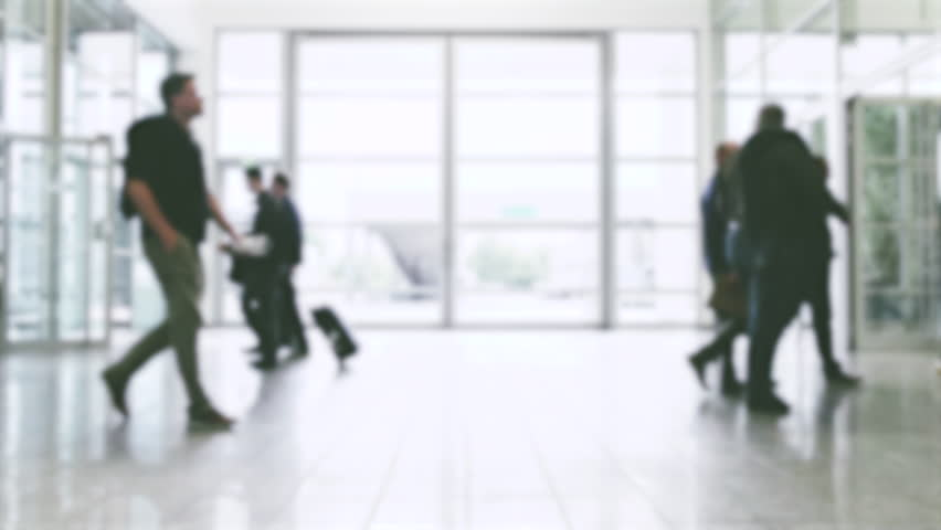 Crowd of business people in motion | Shutterstock HD Video #32248795