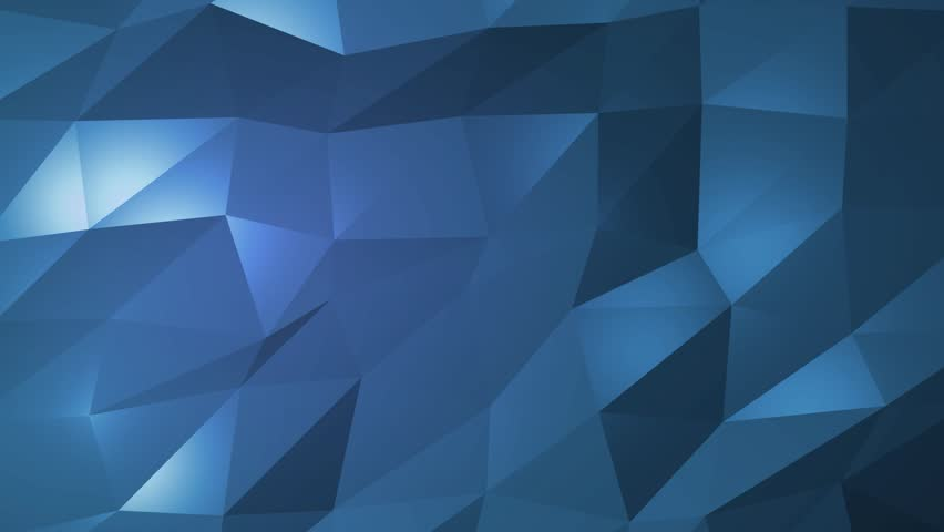 Dark blue creative shining geometric triangular background animation in Origami style with gradient as a pattern for your business design. | Shutterstock HD Video #32255098