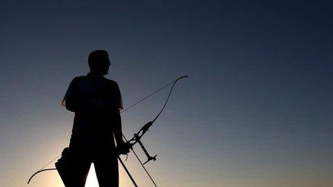 Archer firing an arrow