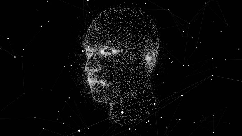 Virtual Human Head. 3D Motion Graphics | Shutterstock HD Video #32430376