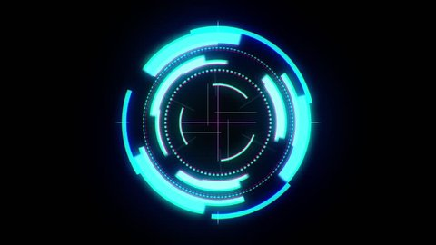 Sci Fi Futuristic User Interface HUD Lock on Target