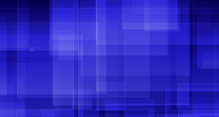 Purple squares and rectangles moving down and overlapping