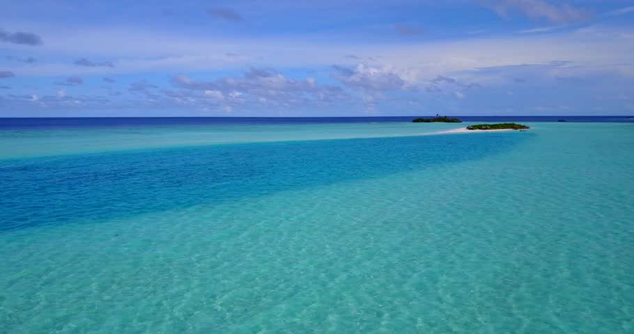 v13648 maldives white sand beach tropical islands with drone aerial flying birds eye view with aqua blue sea water and sunny sky
