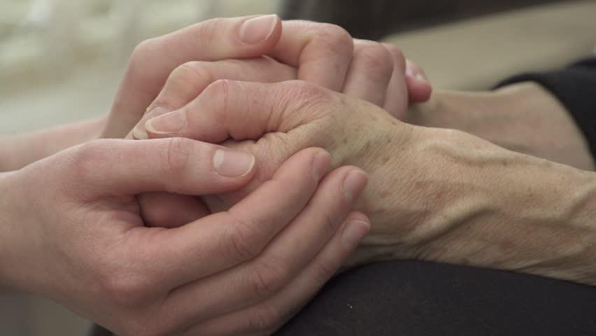 Comforting hands | Shutterstock HD Video #3251806