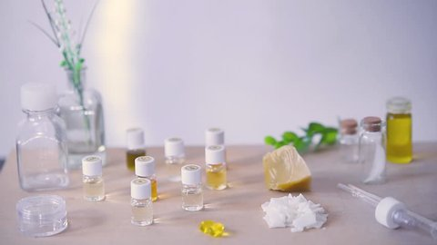 Mixing the Essential Oils in Stock Footage Video (100