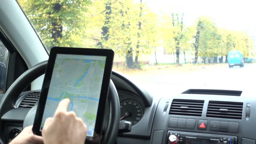 Tablet with Map Gps Navigation Stockvideos & Filmmaterial (100 %  lizenzfrei) 32819896 | Shutterstock