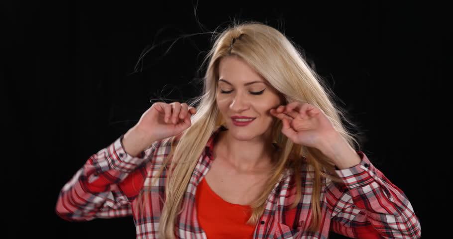 Dancer Woman Dancing Entertainment Activity Lifestyle Young Girl Perform Dance | Shutterstock HD Video #32833546