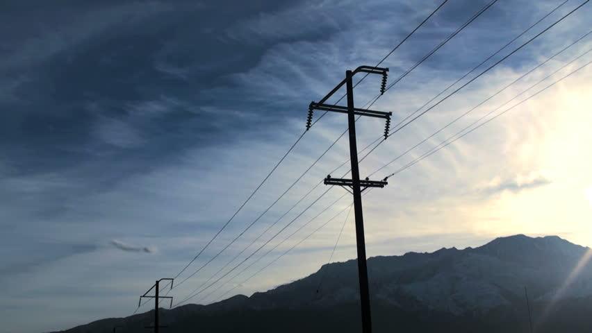 Telephone pole - HD TIMELAPSE