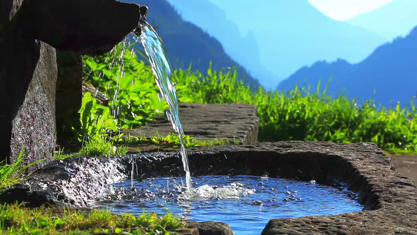 Spring Water Stock Footage Video | Shutterstock