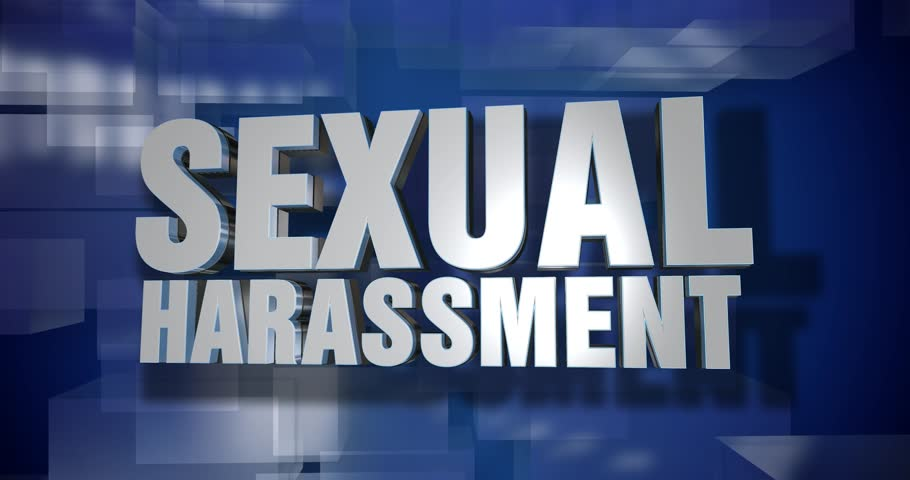 A blue dynamic 3D Sexual Harassment transition and title page animation. 5 and 2 second options included with optional luma matte for both.	 	 | Shutterstock HD Video #32957266