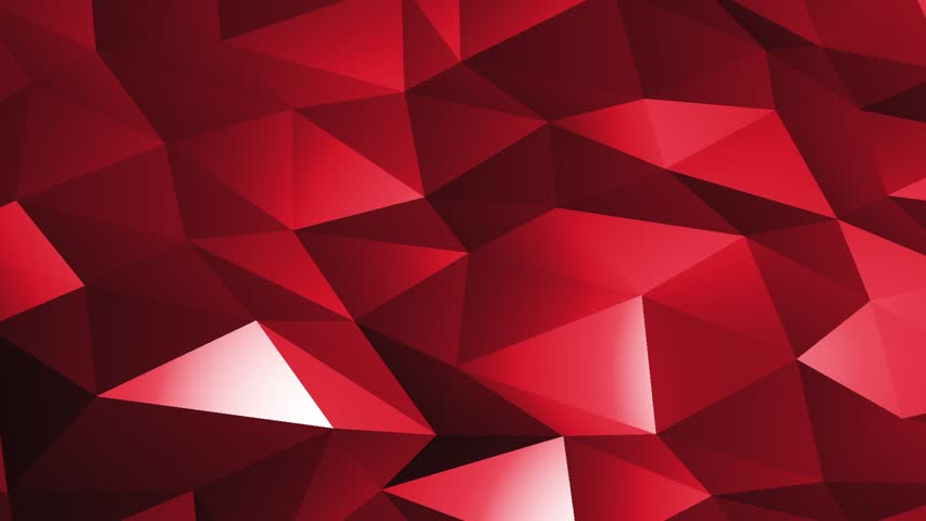 Red Crystal Glass Background Loop Stock Footage Video