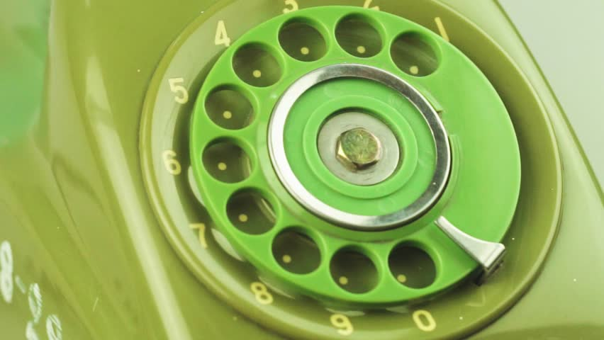 Close-up view on old telephone dial | Shutterstock HD Video #33065974