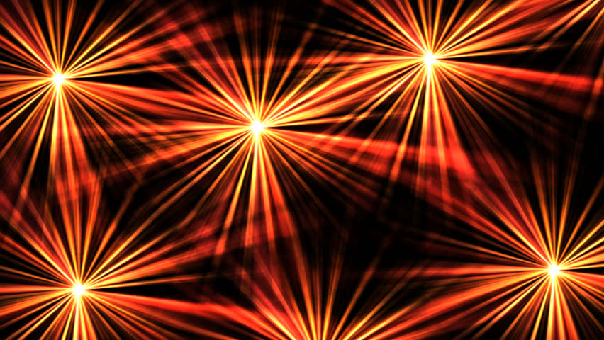 Red abstract background pulsating gold light loop stock footage bright fireworks digital animation hd stock video clip voltagebd