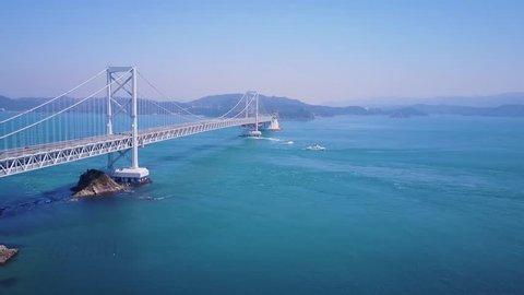 Aerial Footage, Great Naruto Bridge