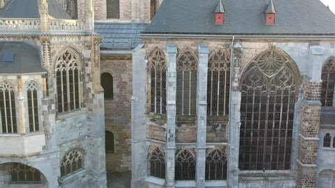 Aachen Germany Cathedral Rathaus Cityhall
