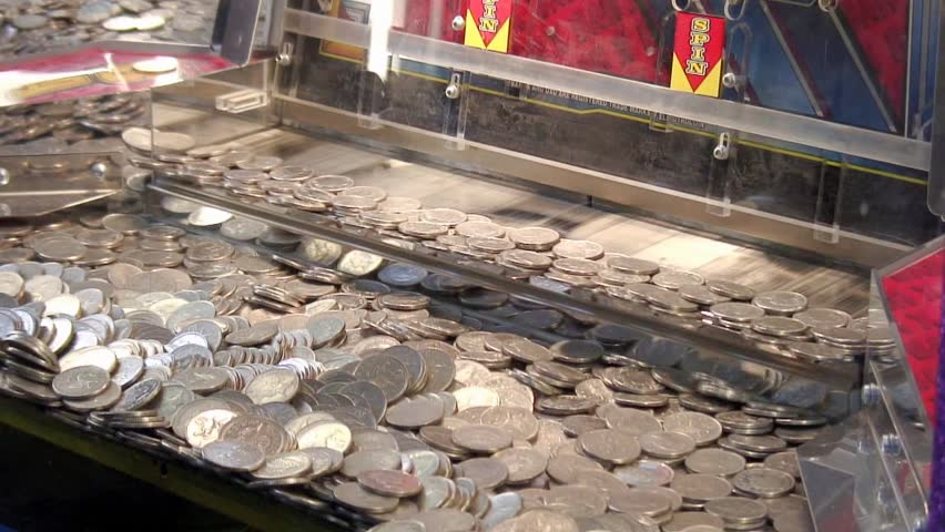 penny arcade in uk seaside town