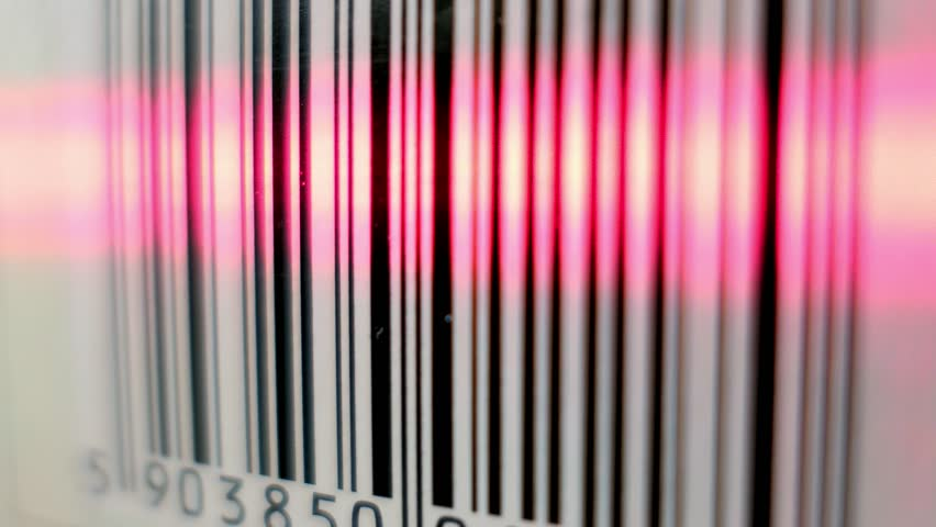Scanning Barcode With Red Laser Scanner