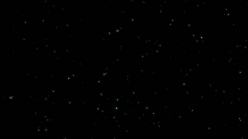 Particle Green light shine particles. with alpha channel. | Shutterstock HD Video #33547276