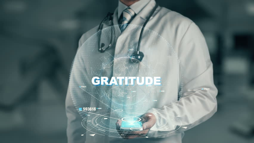 Doctor holding in hand Gratitude | Shutterstock HD Video #33584626
