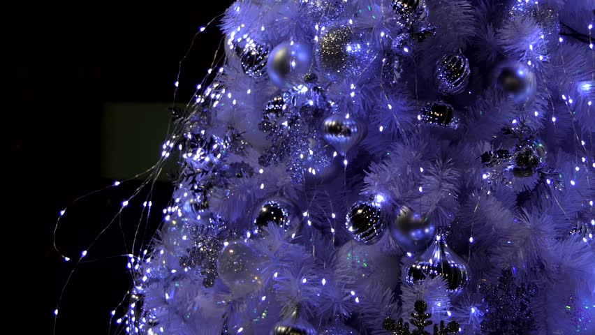 Zoom in of Christmas tree for decoration Christmas Time and New Year.   Shutterstock HD Video #33805006