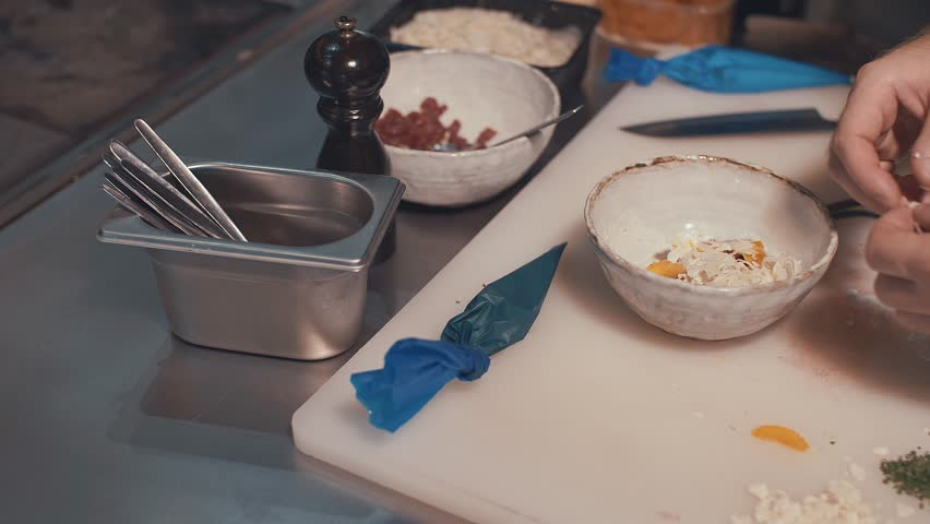 Chef at work close-up | Shutterstock HD Video #33821506
