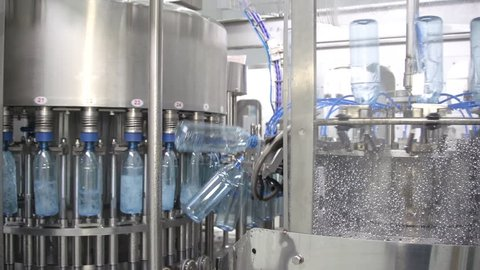 53128af40a Visually similar stock footage. ProRes. Bottle factory. Industrial machine- tool. Production.