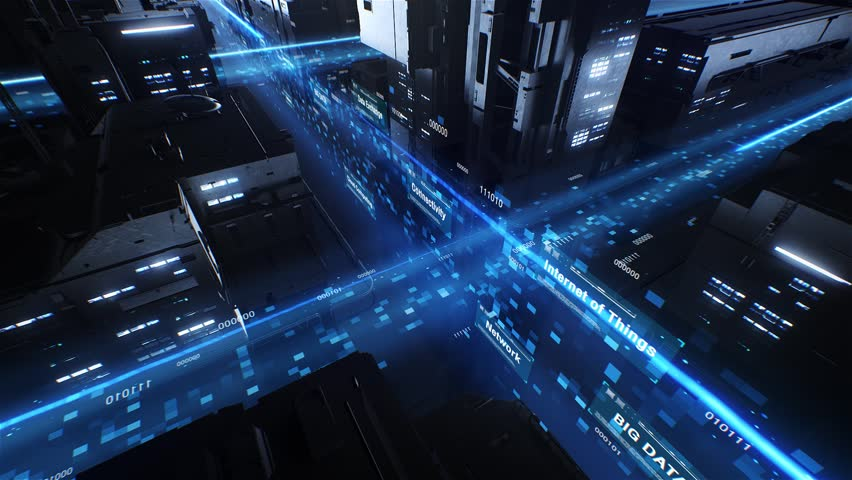 Big Data Digital City | Shutterstock HD Video #33933886