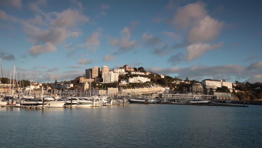 Time Lapse footage of the boats and yachts in Torquay Marina
